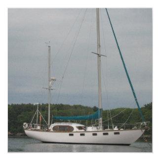 Pleasure Sailboat Invitations