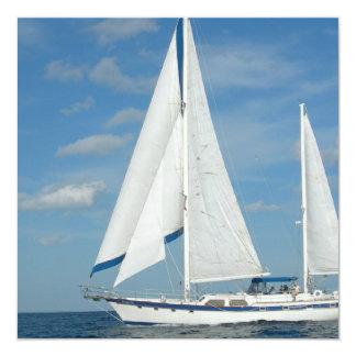 Pleasure Sailing Invitations