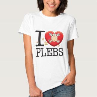 Plebs Love Man Tees