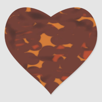 Plectrum Heart Sticker