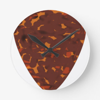 Plectrum Round Clock