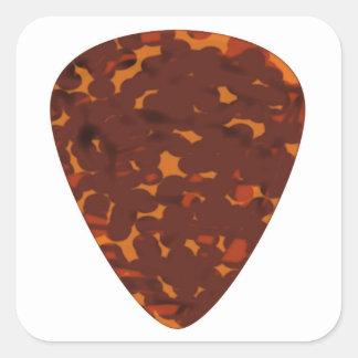 Plectrum Square Sticker