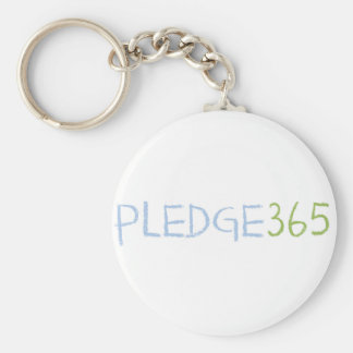 PLEDGE365 Products Basic Round Button Key Ring