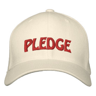 Pledge Hat Customizable Gear!! Embroidered Hat