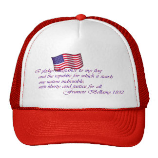 Pledge of Allegiance - 1892 Hats