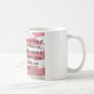 Pledge of Allegiance Basic White Mug