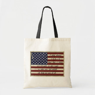 Pledge of Allegiance Budget Tote Bag