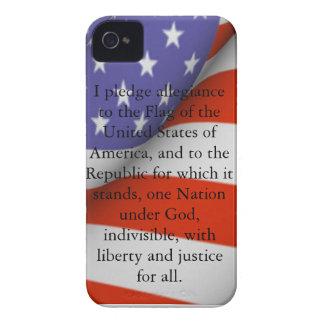 Pledge of Allegiance Case-Mate iPhone 4 Cases