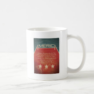 Pledge of Allegiance Coffee Mug