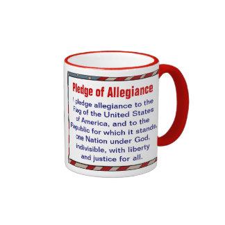 Pledge of Allegiance mug