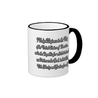 Pledge of Allegiance Mugs
