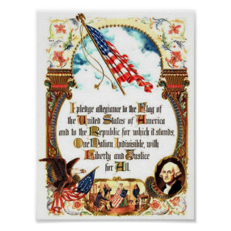Pledge of Allegiance - Original Poster