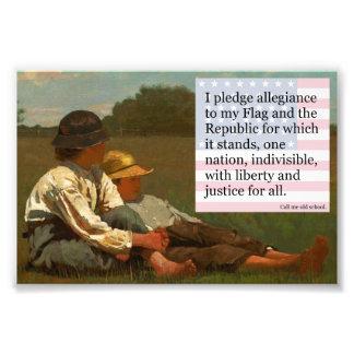 pledge of allegiance photo
