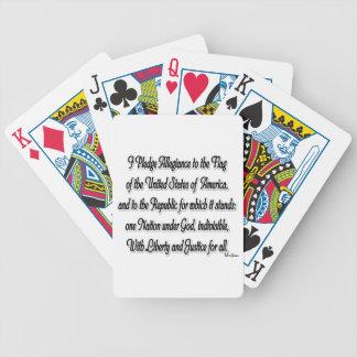 Pledge of Allegiance Poker Deck