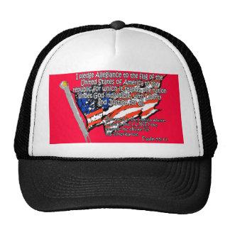 Pledge of Allegiance Psalm 33:12 Hats