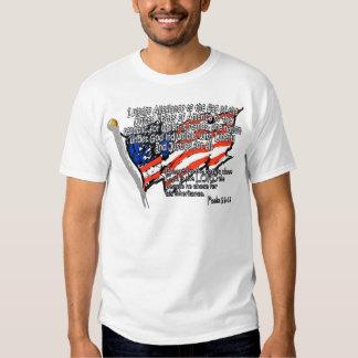 Pledge of Allegiance Psalm 33:12 T Shirts