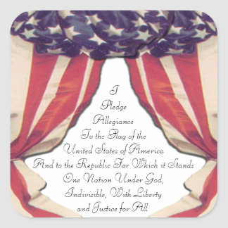 Pledge of Allegiance Stickers