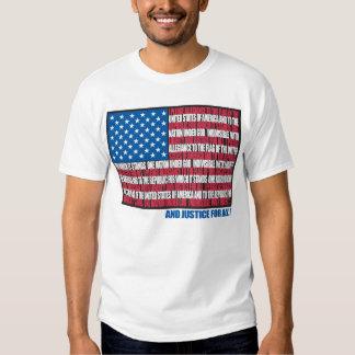 Pledge of Allegiance Tee Shirts