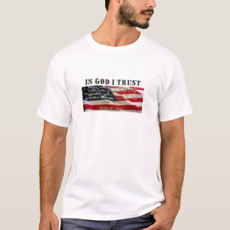 Pledge of Allegiance. Trust in God. T-Shirt