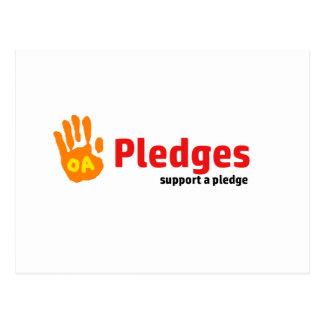 Pledge Postcard