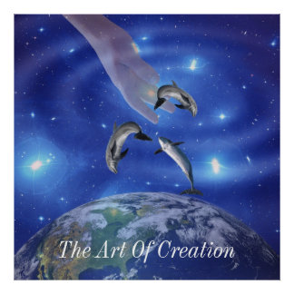 Pleiades Art of Creation Poster