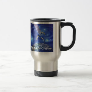 Pleiades Art of Creation Travel Mug