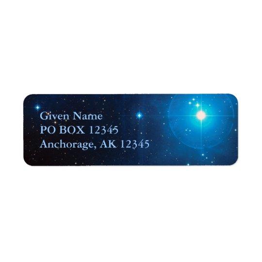 Pleiades Avery Label