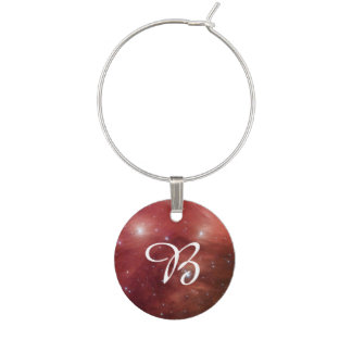 Pleiades in Red Wine Charms