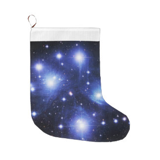 Pleiades Large Christmas Stocking