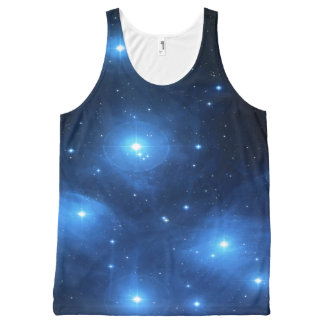 Pleiades or The Seven Sisters M45 All-Over Print Singlet