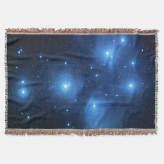 Pleiades or The Seven Sisters M45 Throw Blanket