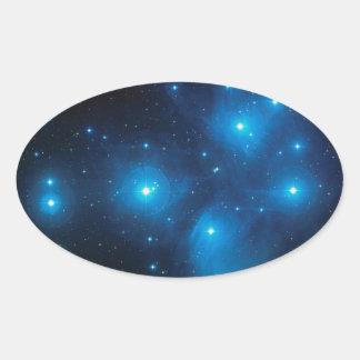 Pleiades Oval Sticker