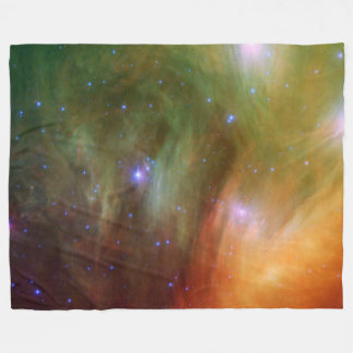 Pleiades stars in infrared SSC2007 07A Fleece Blanket