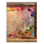 Plein Air Painting Artist's Palette Journal Note Book