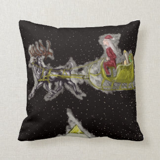 Pleistocene Christmas Cushion