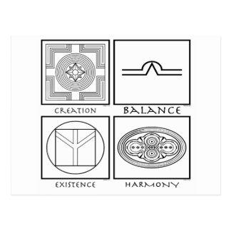 Plejaren Symbols Postcard