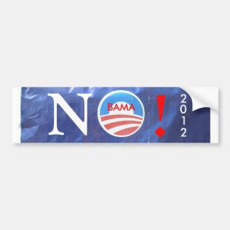 plenet obama, NO! BAMA 2012 Bumper Sticker