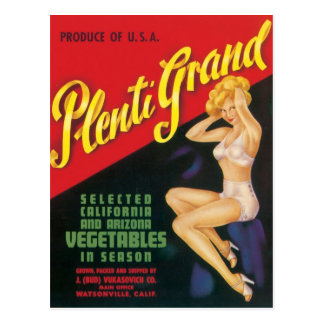 Plenti Grand Postcard