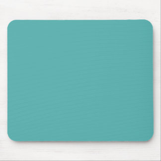 Plentifully Wealthy Turquoise Blue Color Mouse Pad