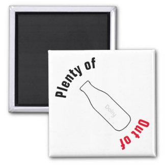 Plenty of/Out of Milk Magnet