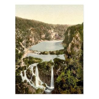 Pletvicerseen (i.e., Plitvice Lake), Ermitensee, C Postcard