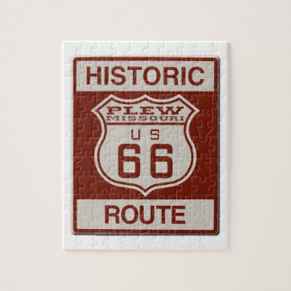 Plew Route 66 Jigsaw Puzzle