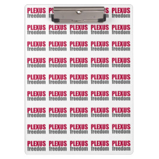 Plexus Freedom Custom Clipboard