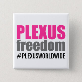 Plexus Freedom Pins/Buttons 15 Cm Square Badge
