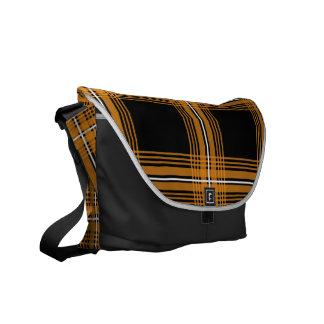 Plexus Orange Messenger Bag