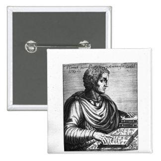 Pliny the Elder 15 Cm Square Badge