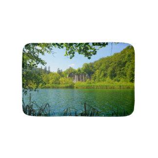 Plitvice Lakes National Park in Croatia Bath Mat