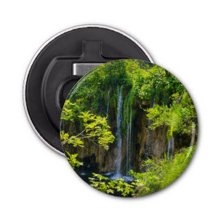 Plitvice Lakes National Park in Croatia Bottle Opener