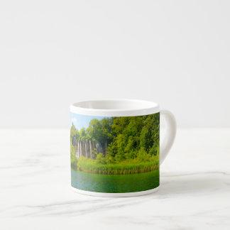 Plitvice Lakes National Park in Croatia Espresso Cup