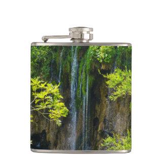 Plitvice Lakes National Park in Croatia Flask